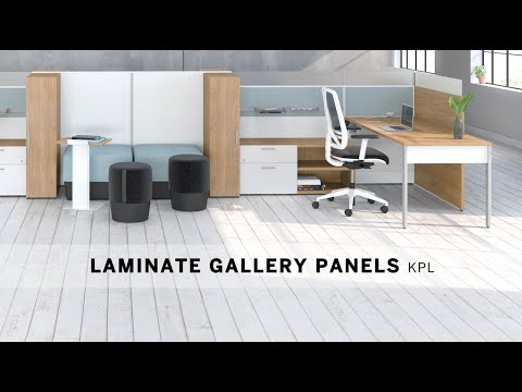Installation video 3 - Laminate gallery pannels