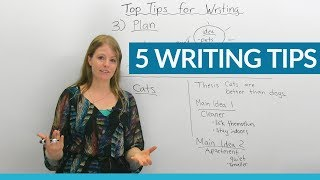 My TOP 5 Writing Tips (for all levels)