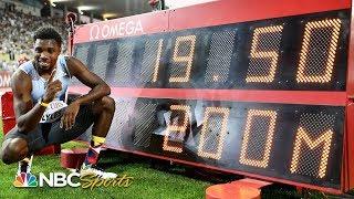 Noah Lyles runs fastest 200 since Usain Bolt in 2012 at Diamond League Lausanne   NBC Sports