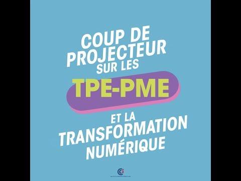 Coup de projecteur sur les TPE-PME et la transformation numérique