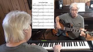 Hey Hey Pretty Mama - Jazz guitar & piano cover ( Willie Dixon )