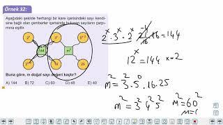 Eğitim Vadisi TYT Matematik 14.Föy Üslü Denklemler 2 Konu Anlatım Videoları