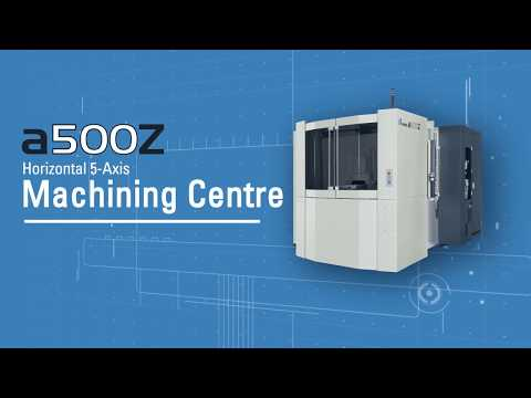 Makino a500Z - set new standards in 5-axis production machining