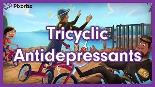 Tricyclic Antidepressants (TCAs) Mnemonic for Nursing Pharmacology (NCLEX)