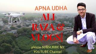 My Village footage with drone dji phantom 4. Apna UDHA