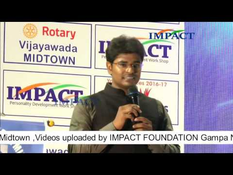 Interview KVN Karthik TELUGU IMPACT Vijayawada 2016