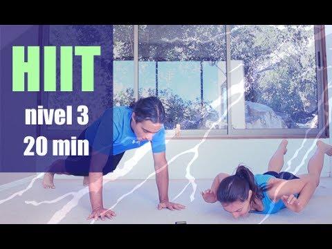 El vídeo el entrenamiento para el adelgazamiento de las caderas