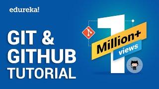 What is Git   What is GitHub   Git Tutorial   GitHub Tutorial   Devops Tutorial   Edureka