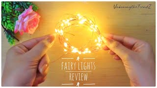 Unboxing Amazon Fairy Lights | XERGY USB Powered, Waterproof, Copper Wire String Fairy Lights