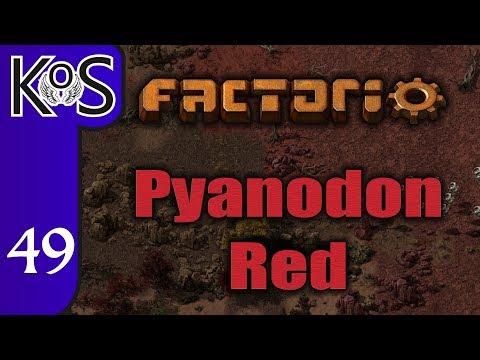 Factorio Pyanodon Red Ep 49: DIAMOND CONTROL - 0.16 - Gameplay, Let's Play