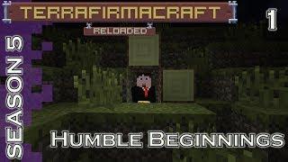 Lets Play - TerraFirmaCraft - Season 5 - 1 - Humble Beginnings