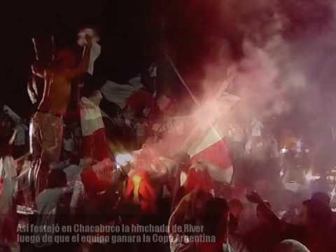 """""""Copa Argentina: Popurrí de cantitos de hinchas de River"""" Barra: Los Borrachos del Tablón • Club: River Plate"""