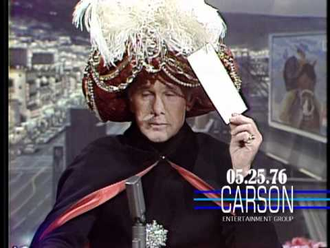 Carnac The Magnificent With Predictions About Snoopy And Taxi Driver On Johnny Carson's Tonight Show Mp3