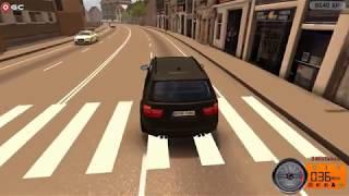 Driving school simulator gameplay