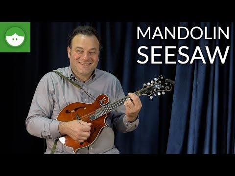Daily Warm-Up for Beginner Mandolin: the Seesaw Exercise