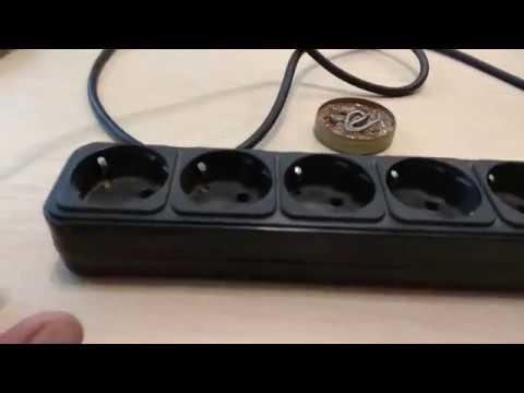 Ремонт удлинителя с выключателем
