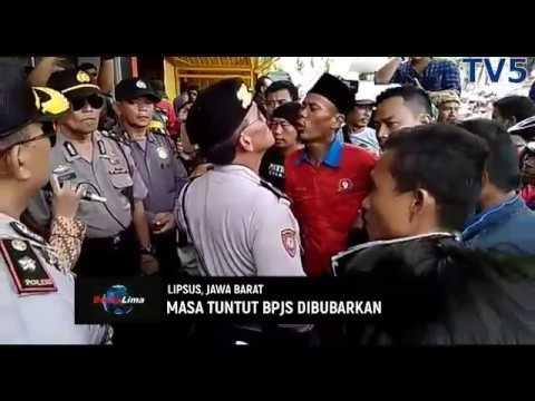 Di Cianjur, Masa Tuntut BPJS Dibubarkan