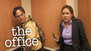 Stuck in the Elevator - The Office US