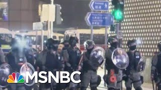 Thousands Of Hong Kong Protesters Rally In Shopping Malls On Christmas Eve | MSNBC