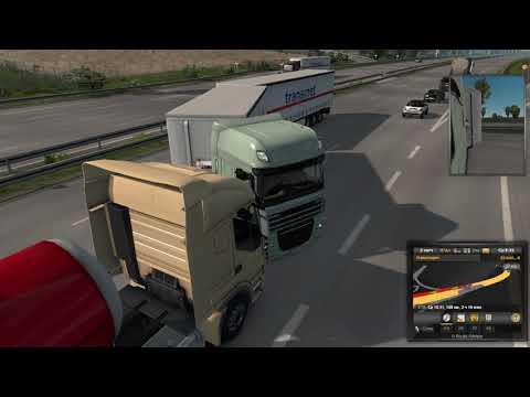 I play Euro Truck Simulator 2, I translate electronics in the rain