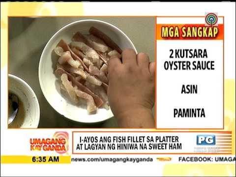 Recipe: Chef Tatung's steamed fish sarciado