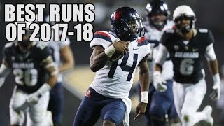 College Football Best Runs Of The 2017-18 Season ᴴᴰ
