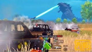 Comment Godzilla nous a aidés à gagner ce match | PUBG Mobile