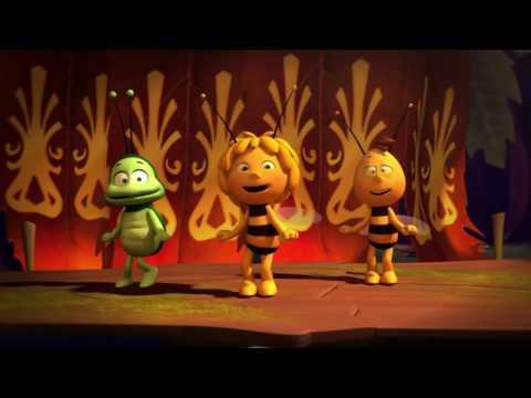 Пчёлка Майя. Песенка и танец Майи. Мультики для детей. видео