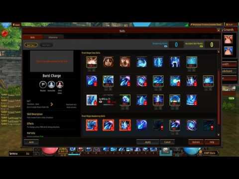 Frost Mage build — Kritika Online
