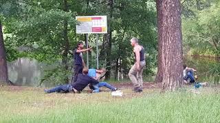 Драка на  Кратовском озере Раменский район