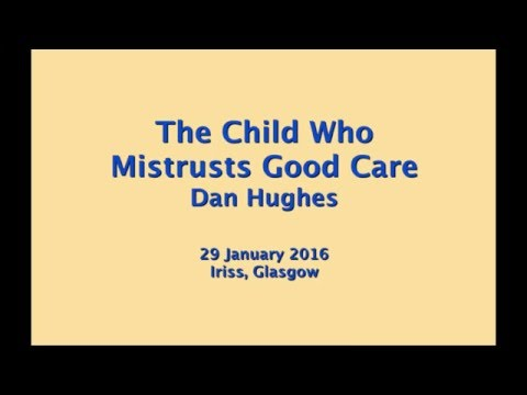 How early years trauma affects the brain  the child who mistrusts good care HD