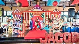 Jacobs Circus 1st Birthday And Baptism