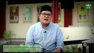 Belajar Wakaf bersama Prof. Dr. Asep Saepudin Jahar, MA (pakar Filantropi Indonesia)