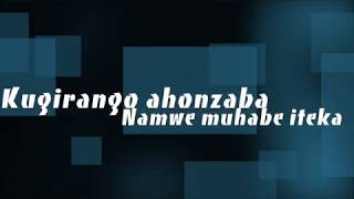 Halleluyah  (Tuzaririmba) By Yvon & Angel ( Official Lyrics Video)