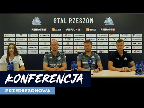 WIDEO: Konferencja Stali Rzeszów przed rozpoczęciem sezonu 2021/22