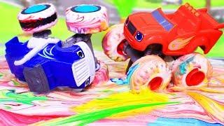 Вспыш и чудо машинки: Подарок для Вспыша – Мультики с игрушками