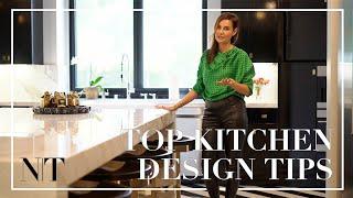 MY CUSTOM DREAM KITCHEN REVEAL! | First Ever Peek Into My Black & White Luxury Kitchen | NINA TAKESH