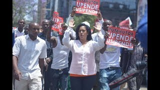 Business owners in Nairobi lament over losses following the NASA demos