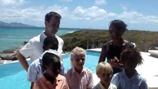 preview picture of video 'Anguilla Luxury Raffle Drawing - Kamique Villa - April 20, 2009'