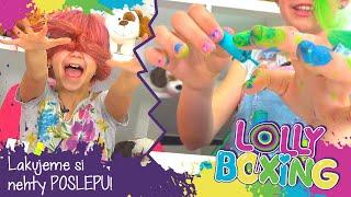 Lollyboxing 49 - Lakujeme si nehty poslepu!