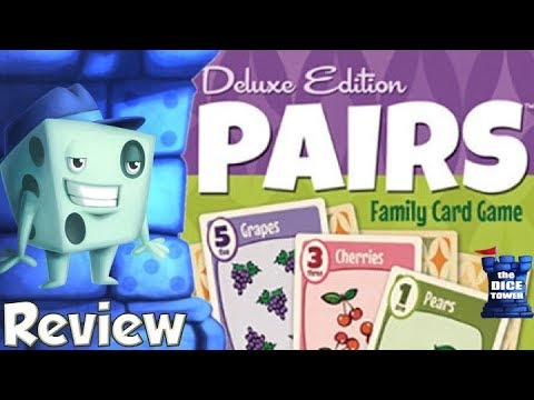 Pairs: Deluxe Edition Review - with Tom Vasel