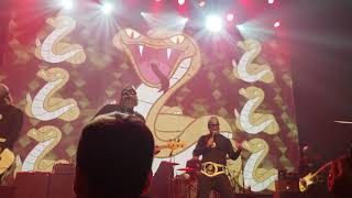 """Attacked by Snakes!(Matinee) The Aquabats April 7th 2018 """"The Fury Of The Aquabats"""""""