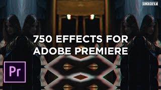 Premiere Library - 750 Handy Video Effects For Adobe Premiere