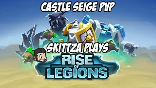Rise of Legions - Free to Play (f2p) Multiplayer Castle Siege PvP Gameplay