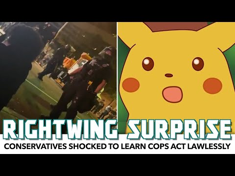 Rightwing Outlet Shocked To Learn Cops Act Lawlessly