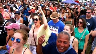 Cupid Shuffle record-breaking line dance in New Orleans