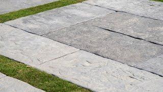 作品//大型手工水泥磚 – 普力岩系列(仿岩石板)