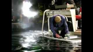 Animatronic shark attack - Behind the Scene by SFX Studio Inc.