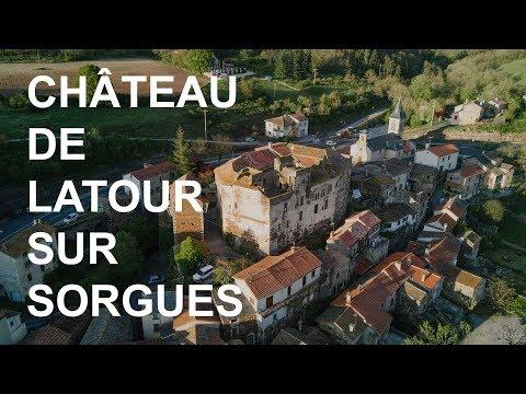 Visite du Château par le président de l'Association gérant les lieux,