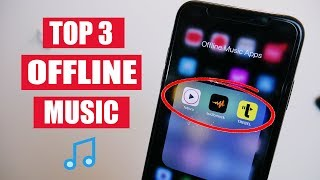 Top 3  Music Apps For Iphone & Android! Offline Music - 2021